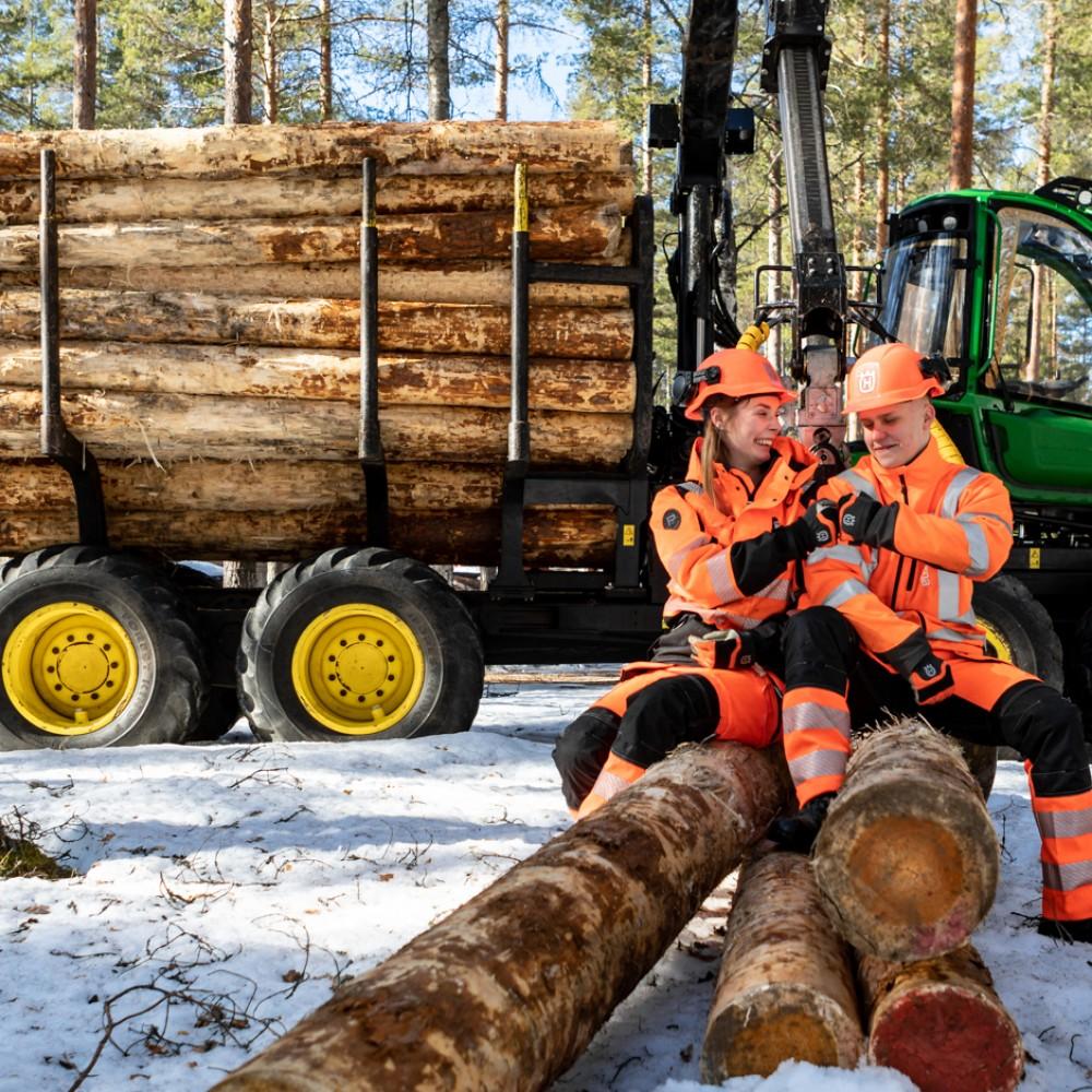Metsäkoneenkuljettaja Oppisopimus
